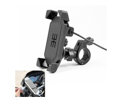 Motorcycle Universal GPS Navigation Chargeable Mobile Phone Holder Bracket