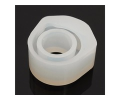 Silicone Mold Chunky Ring DIY Handmade Mould Making Resin Supplies
