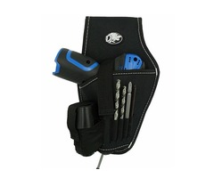 Nylon Fabric Tool Bag Electric Drill Holder Waist Tool Bag Electrician Tools Kit