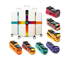 Outdoor Travel Luggage Cross Strap Suitcase Bag Packing Secure Buckle Band
