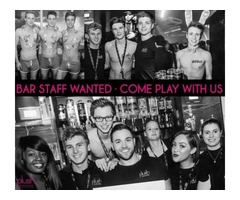We are recruiting enthusiastic staff to work on our busy bar