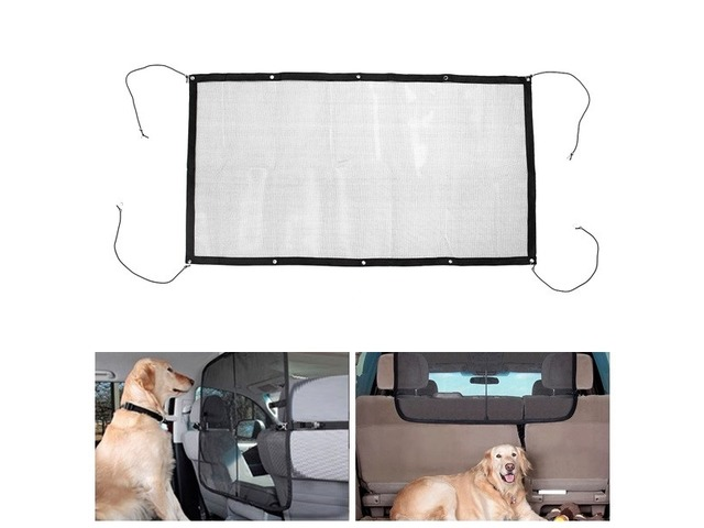 115cmx62cm Pet Safety Isolation Net Back Seat Dog Barrier Mesh for Car SUV Truck | FreeAds.info