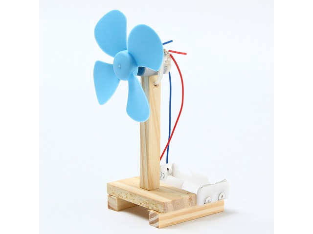 DIY Technology Invention Small Fan Creative Assembly Blocks Toys Kit | free-classifieds.co.uk