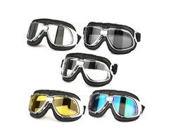 Motor Bike Motorcycle Racing Goggle Eye Protect Helmet Glasses