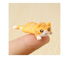 Tiny Q 4CM Little Poor Cat Mini Ornament Articles