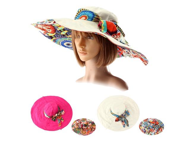 Women Summer Foldable Sun Hat Anti-UV Wide Large Brim Outdoor Beach Gardening Visor Cap | free-classifieds.co.uk