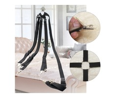 Adjustable Crisscross Bed Fitted Sheet Straps Suspenders Gripper Holder Fastener Bedding sets