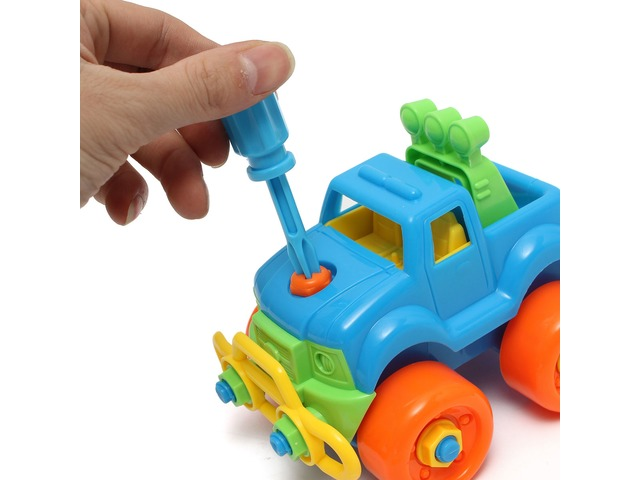 Christmas Gift For Child Disassembly Assembly Classic Car Toy | free-classifieds.co.uk