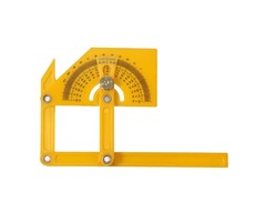 Plastic Adjustable Bevel Angle Gauge Level Indicator Angle Finder Protractor Measurement Tool