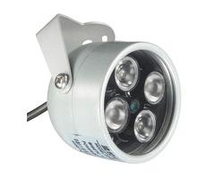HOBOVISIN CCTV 4 Array IR LED Illuminator Light CCTV IR Infrared Night Vision for Surveillance Camer
