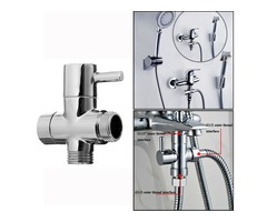 "G1/2"" Bathroom Angle Valve For Shower Head Water Separator Shower Diverter Switch Valve"