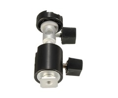 C Type 360 Degree Swivel Flash Shoe Umbrella Holder Light Stand Tripod Bracket Adapter