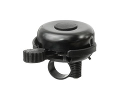 Classic Bicycle Bike Cycling Handlebar Bell Ring Loud Horn Iron Plastic Black