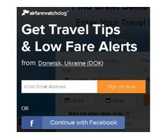 Get Lowest Fares with Airfarewatchdog!