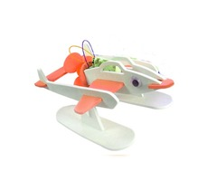 DIY Technology Invention Electric Flying Fish Robot Assembly Model Kit