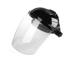 Transparent Lens Anti-UV Anti Shock Welding Helmet Face Shield Solder Mask