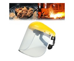 Electric Welding Protective Mask Clear Face Shield Eye Protection Safety Visor For Shredder Gardenin