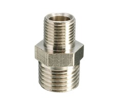 1/4 BSP to 1/8 Inch BSP Male Airbrush Connector Airbrush Hose Adaptor Machinery Parts
