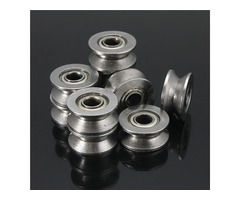 10pcs 624VV V Groove Sealed Ball Bearings V Groove 4x13x6mm 1.5mm Deep Ball Bearings