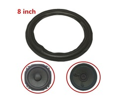 Black 8 inch Speaker Surround Decorative Circle Repair Foam for Bass Woofer Horn