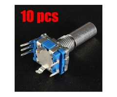 10pcs 15mm Rotary Encoder Switch with Nut and Gasket Micro Switch | free-classifieds.co.uk