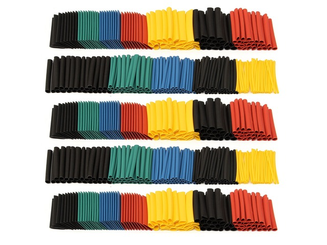 280Pcs Halogen-Free 2:1 Heat Shrink Tubing Wire Cable Sleeving Wrap Wire Kit | FreeAds.info