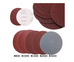 25pcs 5 Inch Abrasive Sanding Discs Sanding Paper 800/1000/1500/2000/3000 Grit Sand Paper | free-classifieds.co.uk