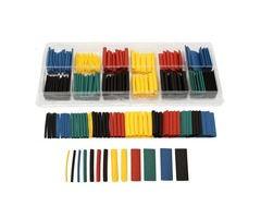 280pcs Assortment Ratio 2:1 Heat Shrink Tubing Tube Sleeving Wrap Kit with Box