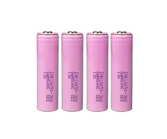 4PCS Samsung INR18650-30Q 3000mAh Unprotected Button Top 18650 Battery | free-classifieds.co.uk