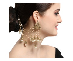 Pretty Indian Style Earrings at Discounted Price