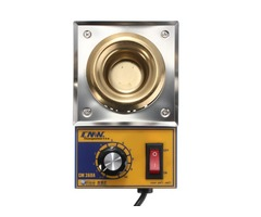 CM360A 100W 200-480 Degree  Solder Pot Soldering Desoldering Stainless Steel Plate