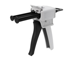 50ML AB Epoxy Glue Gun Handle Spread Applicator fit for Mixed 1:1/ 2:1 AB Glue