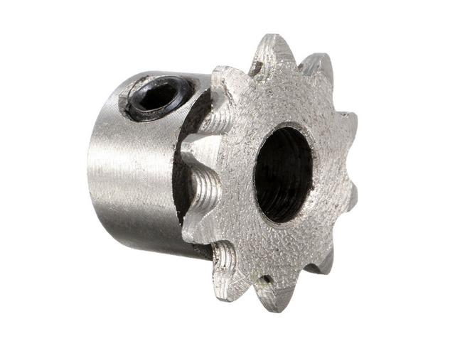 8mm Bore 10 Teeth Metal Gear Motor Roller Chain Drive Sprocket | free-classifieds.co.uk