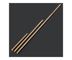 6mm Diameter 100/200/330/500mm Brass Round Bar Rod Circular Tube