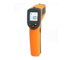 GS320 Laser Digital LCD IR Infrared Thermometer Auto Temperature Meter Gun Non Contact Sensor -50°C~