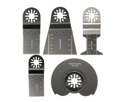 5pcs Mix Saw Blades Oscillating Multitool For Parkside Workzone Einhell Challenge AEG Multitool