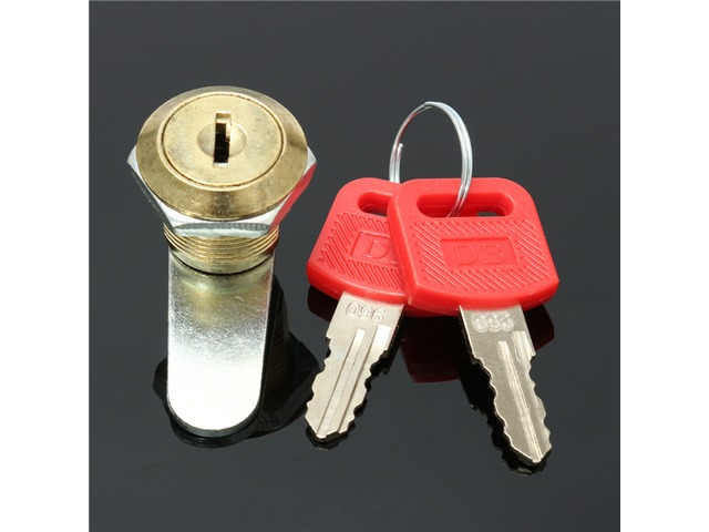 16mm Cam Lock Door File Cabinet Letter Mail Box Drawer Cupboard with 2 Key   FreeAds.info