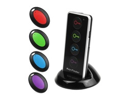 LED Key Wallet Finder Receiver Electron Searcher Remote Wireless Lost Thing Alarm Locator Tracker