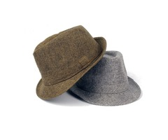 Cotton Wide Brim Panama Fedora Hats Beach Visor Hat