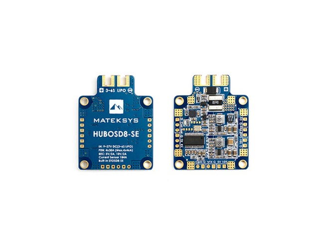 Matek Systems HUBOSD8-SE 9-27V PDB W/ STOSD8-SE 5V&10V Dual BEC for RC Drone | Free-Classifieds.co.uk