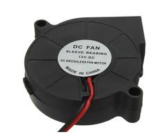 10Pcs 3D Printer 12V DC 50mm*50mm Blow Radial Cooling Fan