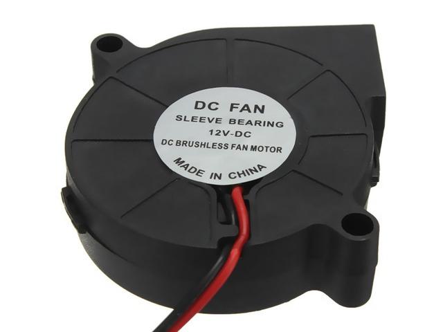 3Pcs 3D Printer 12V DC 50mm*50mm Blow Radial Cooling Fan | Free-Classifieds.co.uk