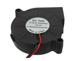 3Pcs 3D Printer 12V DC 50mm*50mm Blow Radial Cooling Fan
