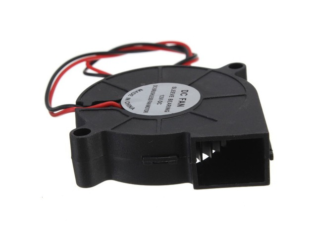 5Pcs 3D Printer 12V DC 50mm*50mm Blow Radial Cooling Fan | Free-Classifieds.co.uk